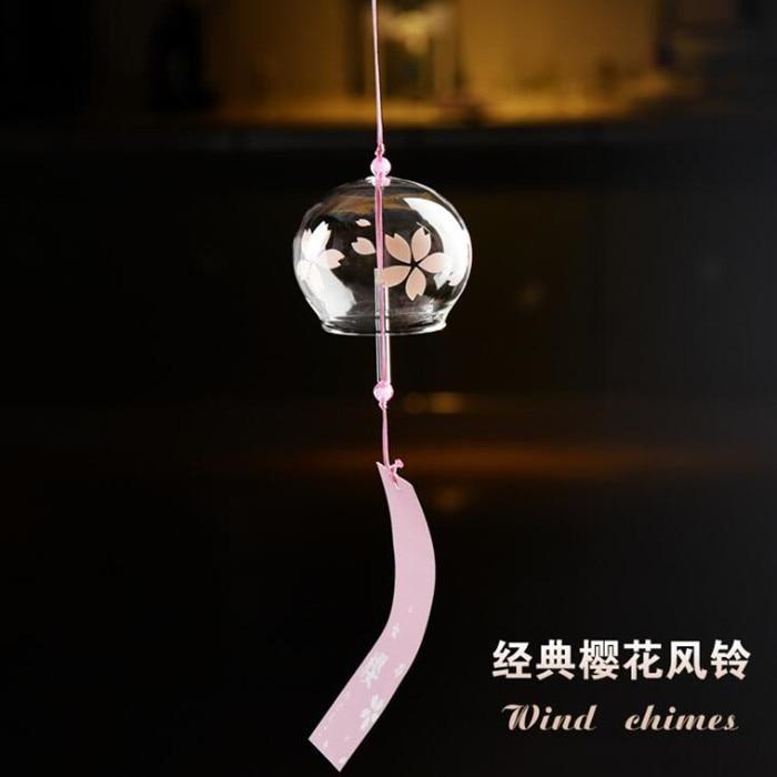 Grote Verpakking 7 cm * 6 cm Glas Windchime Top Populaire Vriend Gift Windchime Mooie Opknoping Thuis Decoratieve Glas Bell