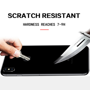 Image 3 - 0.3mm 9H 2.5D Tempered Glass for iPhone X Xr Xs Max 7 Plus screen protector iphone 6 6S 7 8 Plus front and back Protective Film