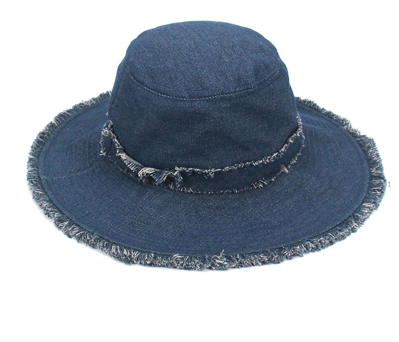 9eb9782c Womens Denim Bucket Hat Male Korean Style Casual Cowboy Fishing Caps  Fashionable Spring Summer Cool Jeans Tassel Sun Hats