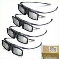 Hot!! 8 pçs/lote genuínos óculos 3d ssg-5100gb para samsung led smart 3d tv de plasma em quatro caixa de varejo