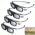 Hot!! 8pcs/lot Genuine 3D Glasses SSG-5100GB for Samsung LED Plasma Smart 3d TV in four retail box