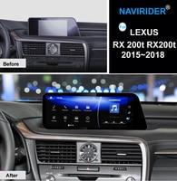 NAVIRIDER автомобиль Android 7,1 мультимедийный плеер для Lexus RX 200 т RX200t 2015 ~ 2018 gps Navi карты навигации player Радио стерео