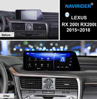 NAVIRIDER Car Android 7.1 multimedia player For Lexus RX 200t RX200t 2015~2018 GPS Navi maps Navigation Player Radio Stereo