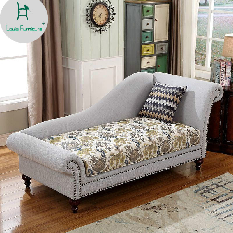 Louis Fashion New Classical Princess Bedroom Chairs Living Room