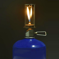 New Outdoor Camping Mini Outdoor Portable Light Butane Gas Lighting Camping Lamp Tent Gas Lamp Lamps And Lanterns