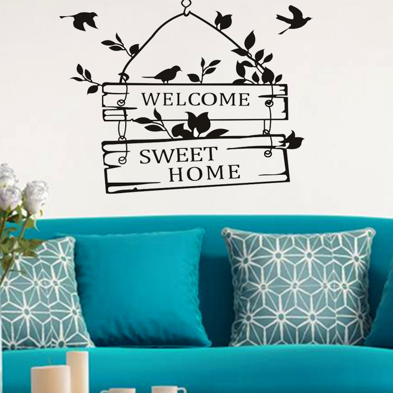 Home Sweet Home Wall Decals Quotes PromotionShop For Promotional - Locations where sell wall decals