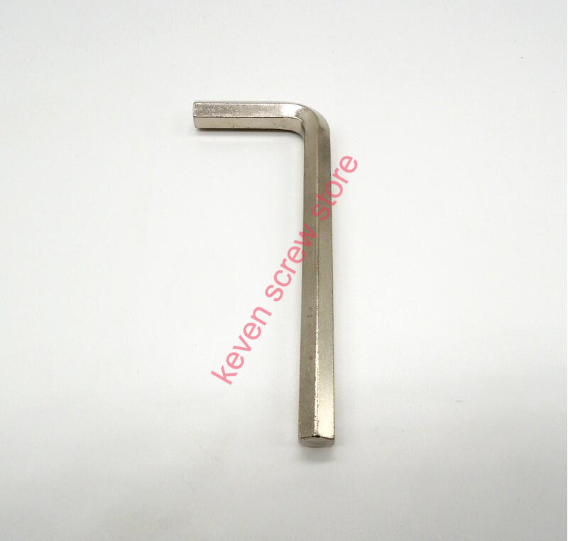 10pcs 1.5/ 2/2.5/3/ 4/5/6,5 pcs 8,2 pcs 10 /12mm Standard wrench Hex key , Nickel plating Allen wrench
