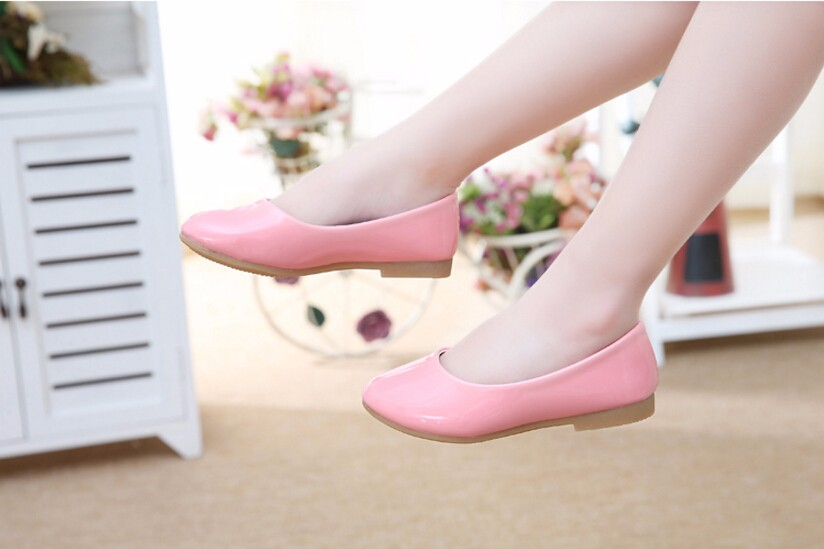 girl leather shoe-15