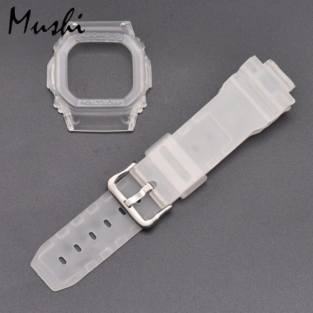 dbe335d1a41 Pulseiras de Relógio Watch Strap Watch Case Para Casio Mushi GX 56BB ...