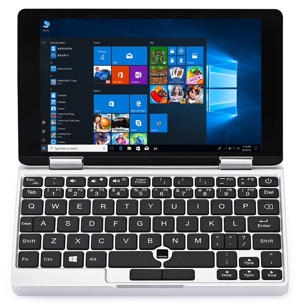 "One Netbook Pocket Laptop Tablet PC 7.0"" Windows 10.1 Intel Atom x5-Z8350 Quad Core 1.5GHz 8GB 128GB Dual WiFi HDMI One Mix Yoga"