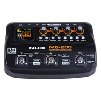 Freight Free MG 200 Guitar Modeling Processor Multi Effect Processor 6 Band Graphic EQ Designed Specifically