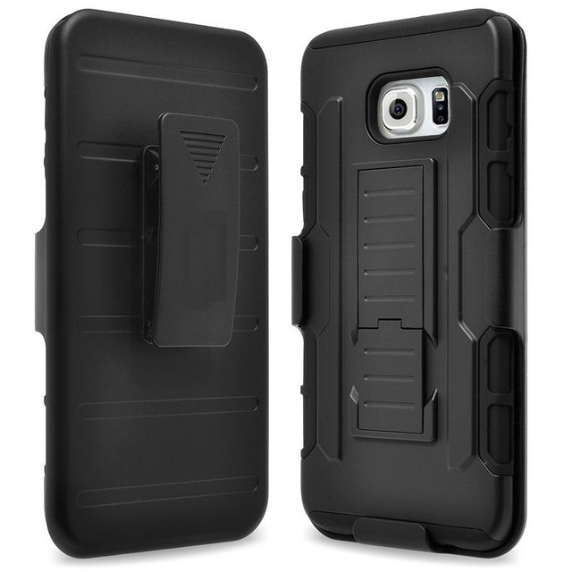 100pcs Rugged Armor Shockproof Holster Case For ZTE Grand x max 2 z988/imperial max z9360 Belt Clip Phone Cover