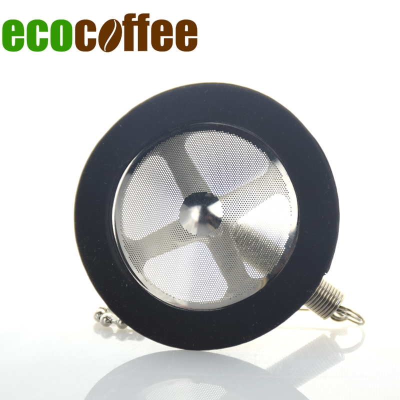 Ecocoffee Freeshipping Resuable Stainless Steel Syphon Filter Replacement For TCA-3/5 Barista Coffee Maker Replacement Stocked