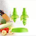 2Pcs/set Creative Lemon Sprayer Fruit Juice Citrus Lime Juicer Spritzer Kitchen Gadgets Spray Fresh Fruit Juice Random Color