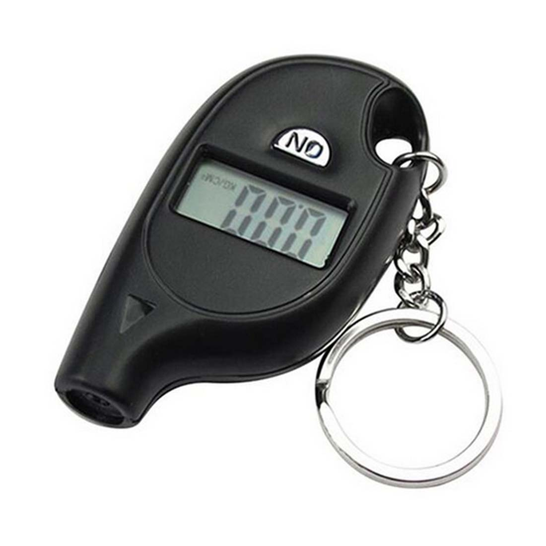 5-100 PSI BAR Mini LCD Digital Tire Tyre Keychain Air Pressure Gauge For Car Auto Motorcycle