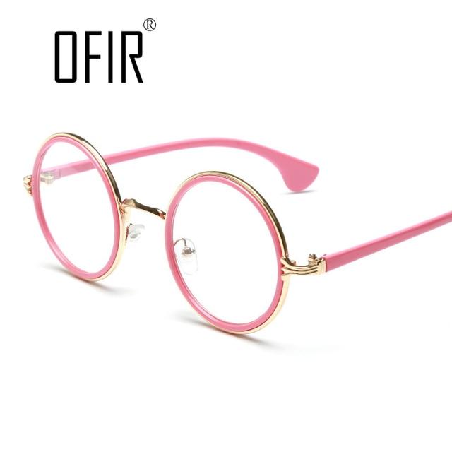 0dbf2456f2e72 Mens Womens Nerd Glasses Clear Eyewear Unisex Retro Eyeglasses Round-frame  Glasses Frame Cute Style 2018 Femininos Gafas MW-18
