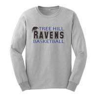 Loo Show Mens TREE HILL RAVENS Footballl Basketballl TV Long Sleeve Adult T-Shirts Casual Men Tee