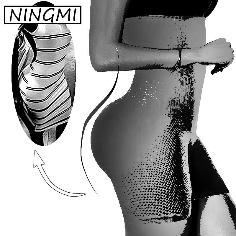 NINGMI Produto VIP Atacado & Dropshipping Controle Calcinhas Shapewear Bunda Levantador