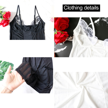 2019 Mesh Dress Women Sexy Dresses Perspective Black/White Fashion Mini Bodycon Dresses Club Vestidos Robes Plus Size M-3XL 4