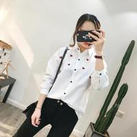 2018 New Spring Blouse Women S Casual Long Sleeved Striped Shirt Wholesale Explosion Of Love