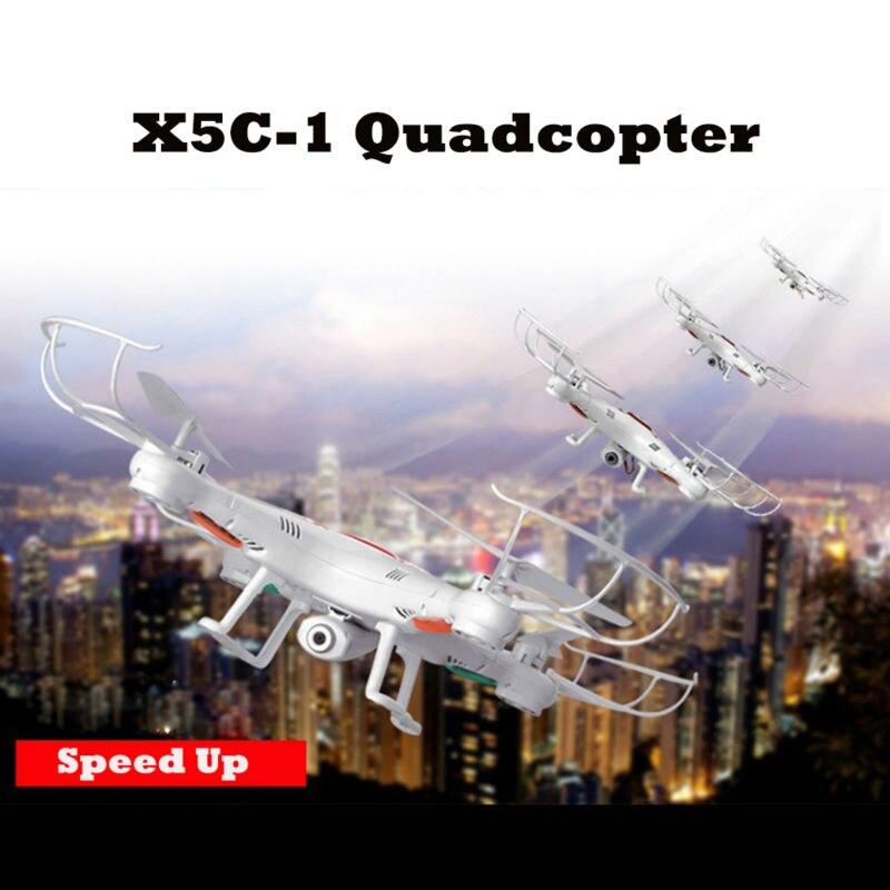 6軸quadcopterビデオrcヘリコプターリモートコントロールおもちゃvs x5c ドローンでカメラhd熱い販売X5C-1 rc