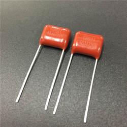 100 шт CBB конденсатор 683 250 V 683J 0,068 мкФ 68nF P10 CBB21 металлизированная полипропиленовая пленка конденсатор