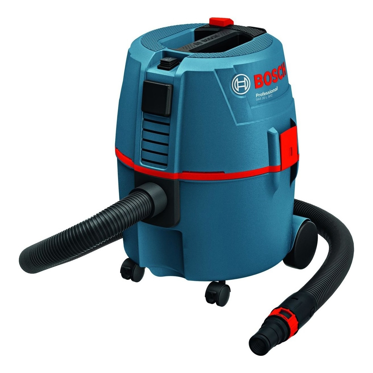 Vacuum cleaner wet and dry Bosch GAS 20 L SFC (Power 1200 W, 20 L, function blowing, socket tool, vacuum cleaner for dry and wet cleaning bosch gas 25