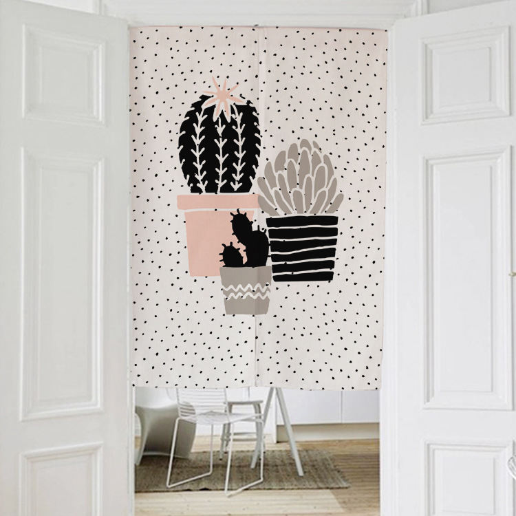 Nordic style CACTUS CARTOON BEARS Japanese decorative door curtains fabric  cloth cotton home screens partition windowPopular Vertical Blinds Fabric Buy Cheap Vertical Blinds Fabric  . Decorative Vertical Blinds. Home Design Ideas