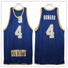 595836b8f  4 JOE DUMARS MCNEES STATE COWBOYS 1981-85 Mens Basketball Jersey  Embroidery Stitched Customize