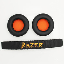 NEW Replacement Ear pad & Headband Cushions for Razer Kraken Pro Gaming headset