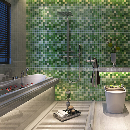 ... Mosaic Adhesive Wallpaper Walls Tiles Wall Stickers Waterproof Wallpaper  For Bathrooms Vinyl Wallpapers For Kitchen Decoration ...