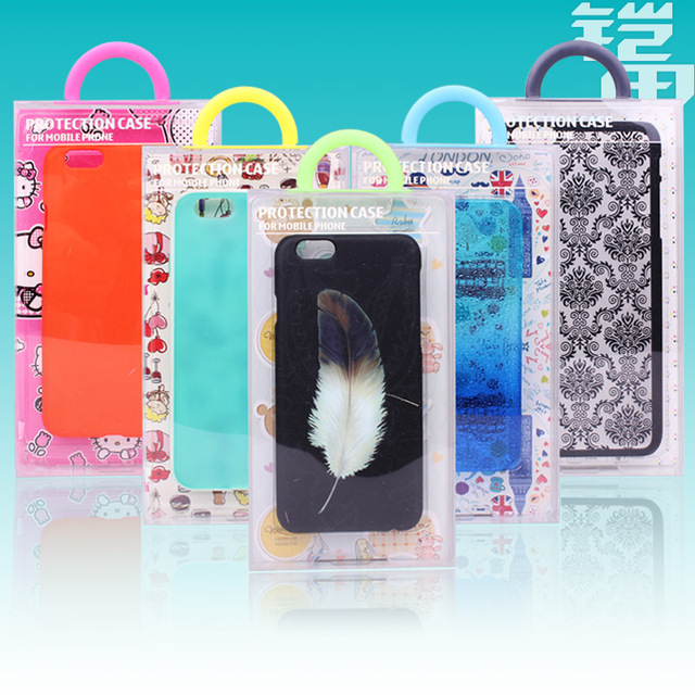 size 40 7cfe5 fa3ce US $37.35  Wholesale Clear Transparent PVC Plastic Retail Package Packaging  Box for iPhone6s Case Galaxy Mobile Phone Case 50pcsKJ 526 on ...