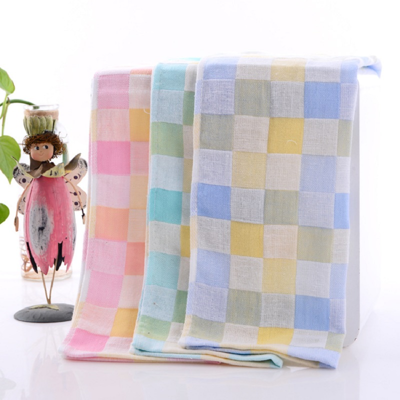 25 *50 Cm Soft Cotton Baby Towesl Newborn Washcloth Infant Bath Towel Soft Towels Printing Child Hand&Face Towel Baby Kids Towel