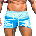 SEOBEAN Brand Mens Cotton Skinny Fight Shorts GASP Elastic Man Boxer Wear Trunks Man Casual Fitness Short Bottoms Workout Cargos