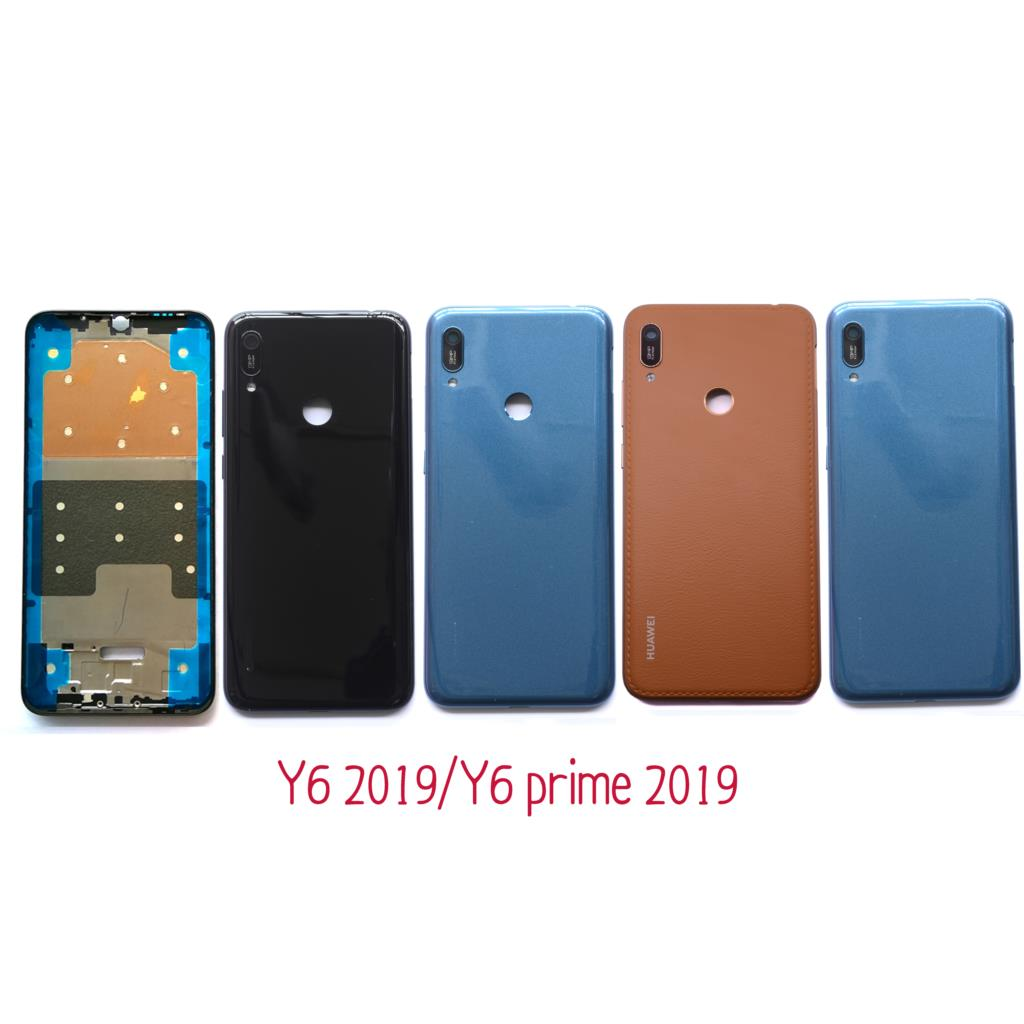 """6.09"""" for Huawei Y6 2019 Battery Back Cover Rear Cover Housing Door Y6 prime 2019 Y6 pro 2019
