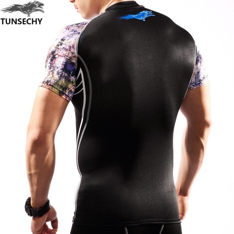 Nove moške srajce za kompresijo Moda Tiskanje Fitnes kožne hlače s - Moška oblačila - Fotografija 5