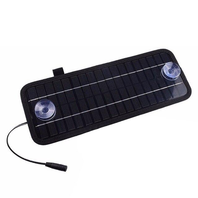 12V 4.5W Portable Power Solar Panel For Car