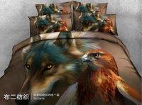 Fashion Wolves Elk Dinosaurs 3D Bedding Set For Bed Duvet Cover Set Twin Full Queen King