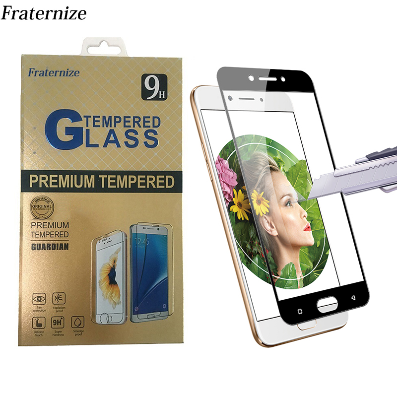 F5 Full Screen Protective Tempered Glass For Oppo R7S R9 R9S R11 Plus A37 A59 F1S A39 F5 F3 A77 Full cover Protector Film