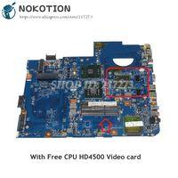 NOKOTION JV50 MV MBPRL01001 48.4CG08.011 Para Acer aspire 5738 Laptop Motherboard MB. PRL01.001 GM45 DDR3 HD4500 GPU CPU Livre|Placas-mães| |  -