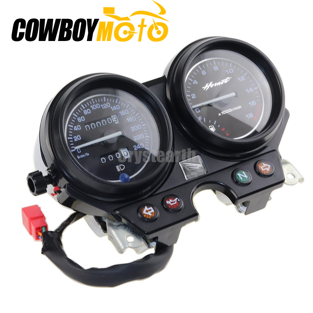 240 km/h Speedometer Tachometer Instruments Gauge Kit For Honda CB600 Hornet 600 2000-2006 2001 2002 2003 2004 2005 for honda cb600f hornet cb600 aluminum motorcycle water cooling radiator 1998 1999 2000 2001 2002 2003 2004 2005 2006