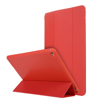 Case For IPad Air 2 Luxury Ultra Thin Flip PU Leather Case 3 Fold Smart Stand