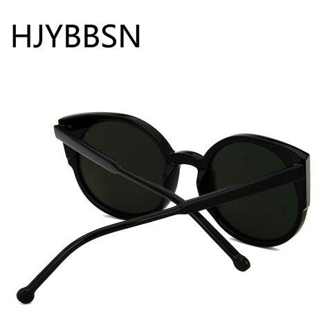 HJYBBSN Round Cat Eye Women`s Sunglasses Water Drip Trendy Vintage Sun Glasses Ladies Ray Bann Mirror Goggle Sunglasses Driver Multan