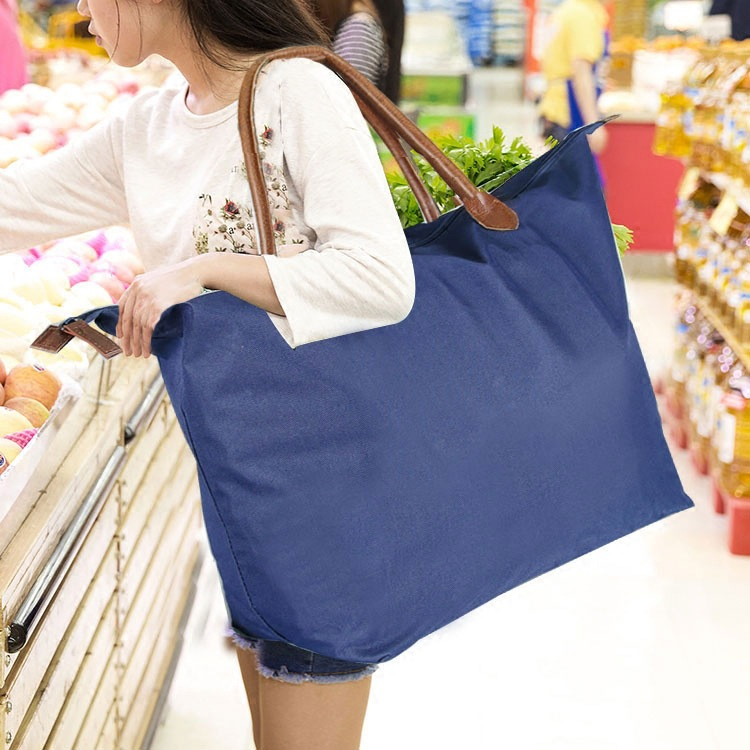 Hot Eco Storage Handbag Strawberry Foldable Shopping Bags Reusable Folding Grocery Nylon Large Bag Travel Bag new style cartoon fruit lemon eco bag useful nylon foldable reusable shopping bags