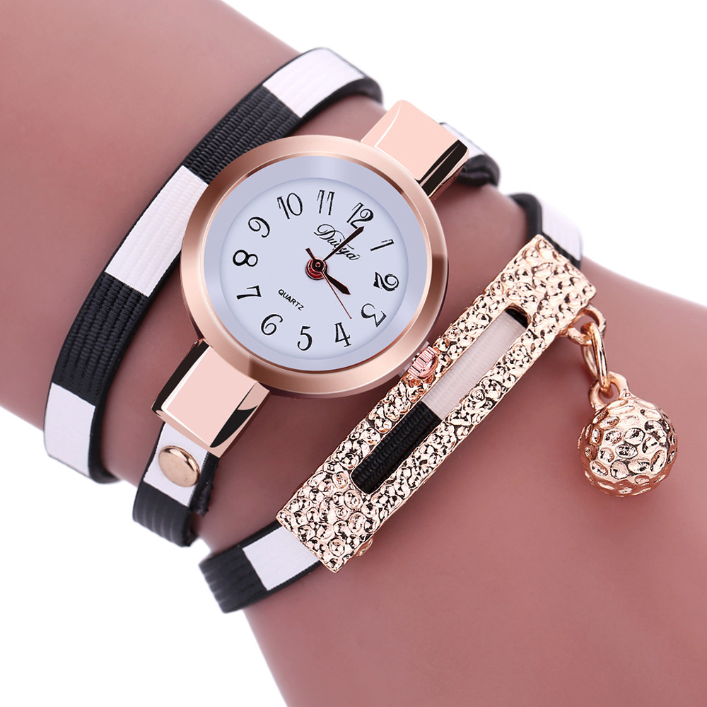 Luxury Brand Quartz Watch 2016 New Fashion Women Watches PU Leather Bracelet Watch Casual Women Wristwatch Relogio Feminino Gift 2016 new brand fashion retro style men dress quartz leather rivets bracelet watches women crystal casual relogio feminino watch