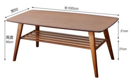 100*50*50 cm Table basse en bambou moderne salon table à thé - 6