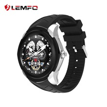 LEMFO LF17 Smart Watch For Android Phone 3G WIFI SIM Card GPS With Whatsapp Fashion Men Pedometer Sleep Monitor