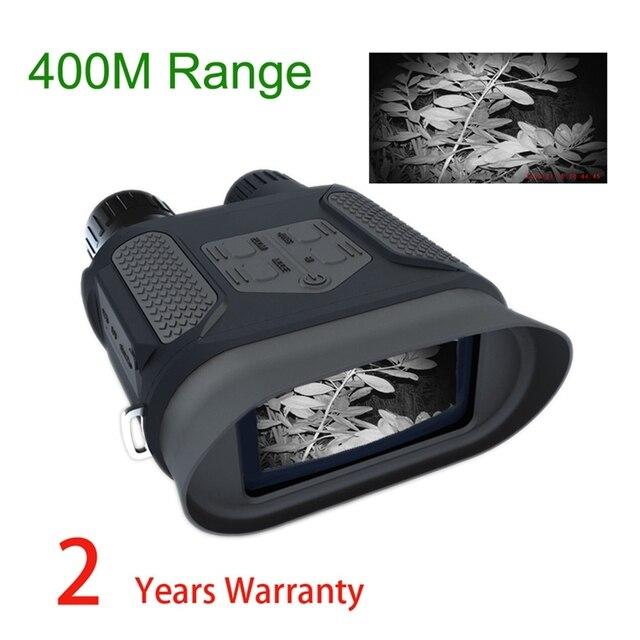 Nv400B binoculares de visión nocturna Digital para caza 7X31, gafas Lcd de visión diurna y nocturna, telescopio para caza