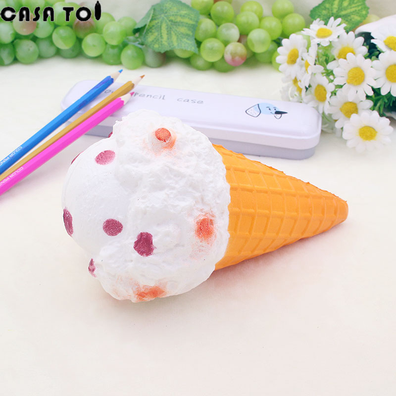 Kawaii Poo PU Funny Squishy ice cream Cute Soft Toy Squeeze Squishies Fun Squeeze Antistress Childrens Toys For Boys and girls