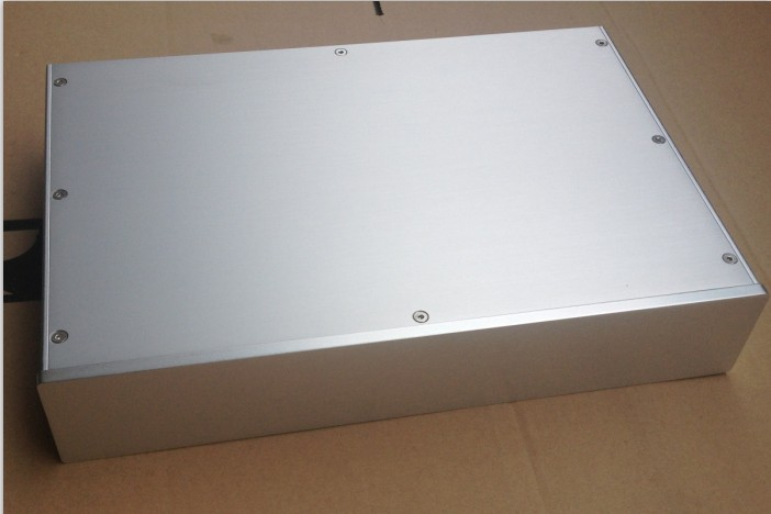 C-035 CNC All Aluminum Chassis Case Box Cabinet for DIY Audio Power Amplifier 380mm*70mm*258mm 380*70*258mm aramith 70 035 57 0